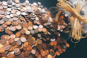 Pieniądze od ręki