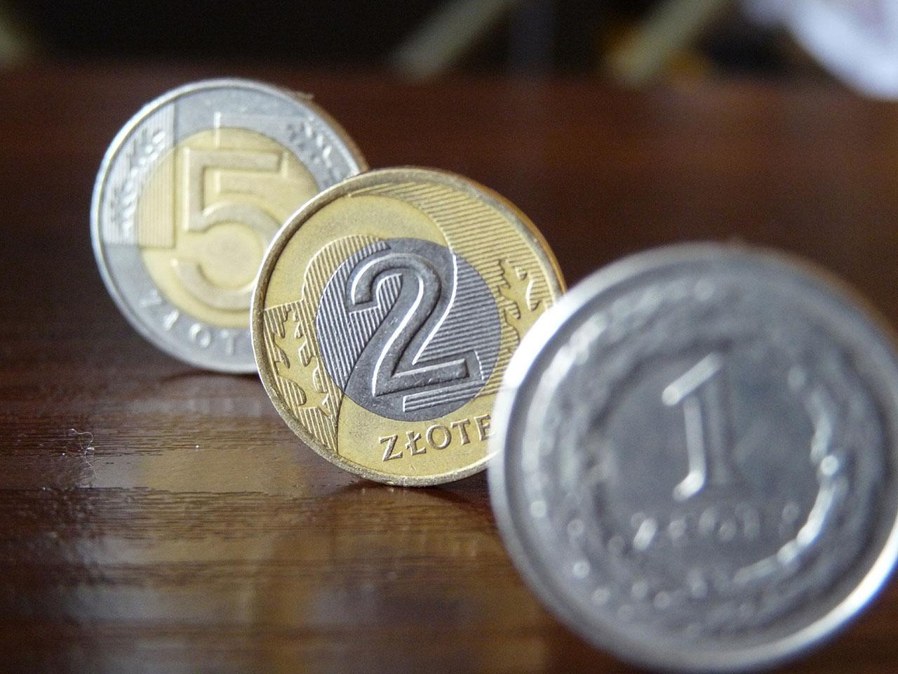 Monety złotówki